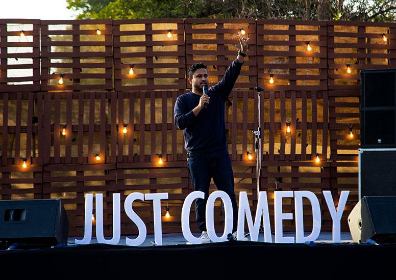 Just Comedy - Abish